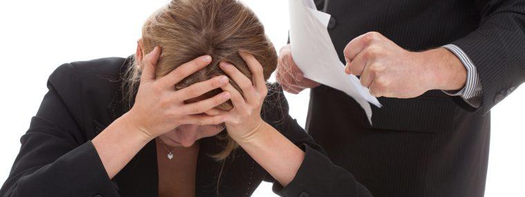 assédio no ambiente de trabalho